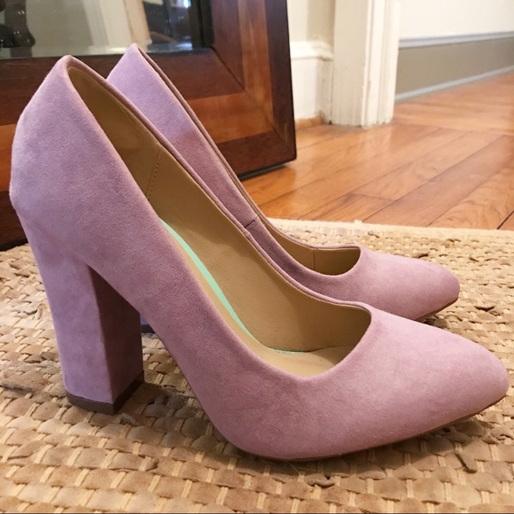 d7ce8f08c78d Missguided Lavender Block Heels. M 5a83031105f43078d7090815